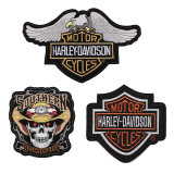 Cheap Custom Embroidery Patches for Police Garment (YB-e-040)