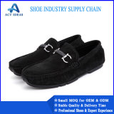 Factory Cheap Good Quality Casual Shoes Leather Artificial Leather Men Casual Shoes Leather