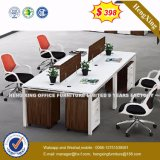 Cheap Price MFC Wooden Mahogany Color Office Partition (HX-6M173)