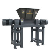 Solid Waste Shredder Small Waste Plastic Crusher for Pet Bottle/Metal/Rubber/Tire Tyre/Paper