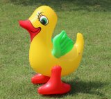 Eco-Friendly PVC Cheap Inflatable Duck Animal Toys