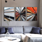 3D Metal Abstract Printed Aluminum Oil Painting Interior Modern Home Wall Art Decor