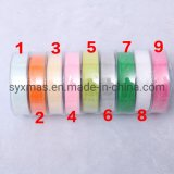 Silk Satin Ribbon Party Home Wedding Decoration Gift Wrapping Christmas New Year DIY Material