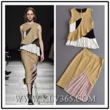 Hot Sale High Quality Women Clothes Latest Lady Dress Fashion Suit