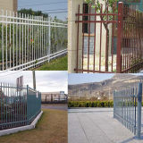 Pressed Spear Top Tubular Fence for Utility Sites