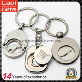 Custom Shopping Cart Metal Token Trolley Coin Holder Keychain