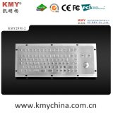 Ik07 Vandalproof Stainless Steel Keyboard with Trackball (KMY299I-2)