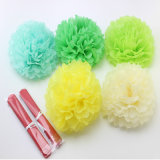 Handmade Tissue Paper Pompoms Wedding Decorative Paper Flower Ball Baby Shower Birthday Party Decoration Paper POM Poms