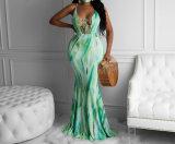 Cheap Sale Women Maxi Dress Backless Design Ladies Fashion Dresses Party Evening Dress Wholesale