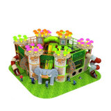 Wooden Indoor Soft Playground, Cheap Soft Play Equipment, Children Play Area Equipment