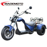 Wholesale 4000W City Coco Fat Tire 3 Three Wheels EEC Dual Motor China Adult Electric Trike Mobility 5000W 6000W Electrical Scooter Motorbike Chopper Motorcycle