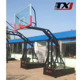 Electro-Hydraulic Adjustable Basketball Stand