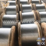 12.7mm 1*7 Steel Strand for Prestressed Concrete