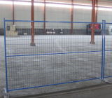 6ftx9.5FT Canada Green Coated Welded Wire Temporary Fence Panels