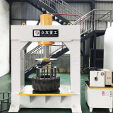 Zhongyou Good Price Precision 80ton/160ton/250ton Mobile Truck/Forklift Solid Tire/Tyre Hydraulic Press Machine for Tire Press