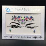 Hongkong Topaz Newest Skin Safe Party Eye Stickers White Studs Body Jewels Face Tatto Stickers (E20)