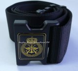 Nylon Fabric Military Belt with Plastic Buckle for Men