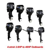 2.6HP to 40HP 4-Stroke Outboard Motor compatible for YAMAHA or Tohatsu