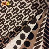 100% Polyester Multi - Color Flocking Sofa Fabric