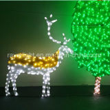 Customized LED Lighting 2D Cheap Outdoor Christmas Advertising Lights