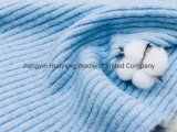 8.5nm Brushed Yarn with Acrylic, Recycle Polyester and Spandex Blended Fancy Yarn with Grs