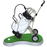 Golf Pen Holder Gift with Cart for Sale