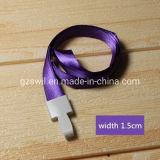 fashion Promotion Cheap Sublimation Printed Logo Custom Neck Strap Lanyard