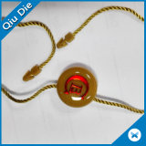Two Color Brand Round Hang Tag Plastic Lock String