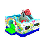 Unicorn Inflatable Playground Inflatable Bouncer for Kids