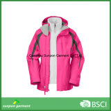 Top Quality Winter 3-in-1 Ski Jacket for Outdoor Sports Jacket