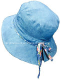 Girls Customized Reversible Bucket Sunhat for Summer