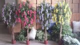 High Quality of Artificial Plants Natural Trunk with Flowers Westeria Gu-SL-130-840-45mix