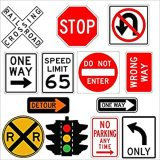High Quality Safety Road Traffic Warning Signs Board