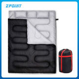 Double Sleeping Bag with Two Pillows