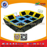 High Quality Children Bungee Trampoline with Enclosure