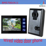 """4-Wire 7"""" Color Video Door Phone for Security Use"""