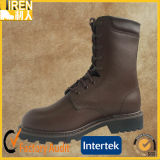 Top Grain Leather Good Quality Military Combat Boots