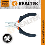 Nickel-Planted Mini Combination Pliers with Raised Shoulder