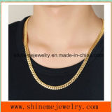 Embossed Accessories Wholesale Stainless Steel Full-Size Golden Dragon Men's Necklace (SSNL2624)