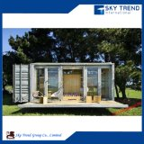 Mobile Container House with Folding Deck