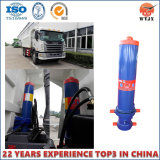 Front Mount Telescopic Hydraulic Cylinder for Dump Trucks