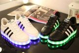 Latest Student Flash Light LED Casual Shoes Sport Shoes (FF326-8)