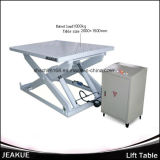 Jeakue Immovable Hydraulic Lift Table 1000kg
