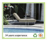Rattan Outdoor Chaise Lounges Comfortable Poolside Sun Loungers