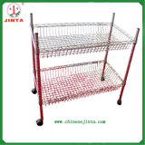 2 Layer Mini Wire Shelf for Kitchen Use (JT-F06)