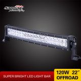 22inch IP67 Spot Light 120W LED Curved Light Bar