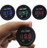 LED Display Car Digital Voltmeter Electric Voltage Meter Monitor Socket