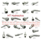 Ht Female Swaged Stainless Steel Brass Fitting Hydraulic Hose Fitting