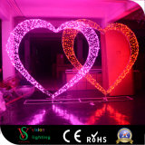 Wedding LED 3D Heart-Shaped Light for Outdoor Decaration