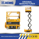 XCMG Manufacturer 8m -16m Small Aerial Platform Electric Hydraulic Mobile Scissor Lift for Sale